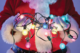 Don't compromise your safety when taking down Christmas lights this year!