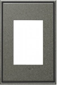 Legrand adorne pewter wall plate
